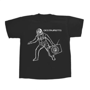 Destruments B Boy Spaceman T Shirt