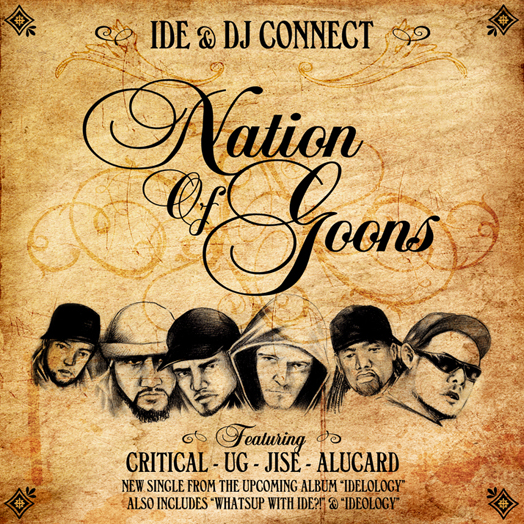 IDE & DJ Connect - Nation Of Goons CD Single