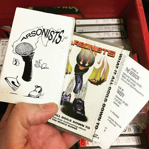 vintage Arsonists Tapes