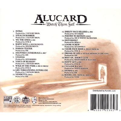 Alucard - Watch Them Fall Back Cover