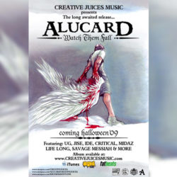 Alucard Watch Them Fall Flyer