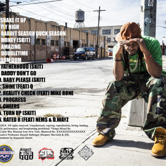 Respect Tha God - Work Ethic Track-listing