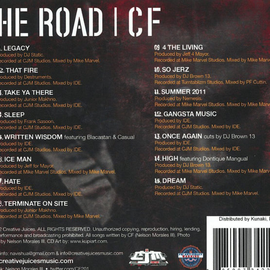 CF The Road Tracklisting