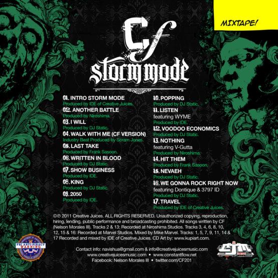 CF aka Constant Flow - Storm Mode