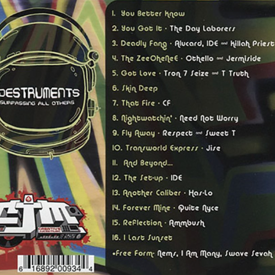 Destruments - Surpassing All Others Tracklisting