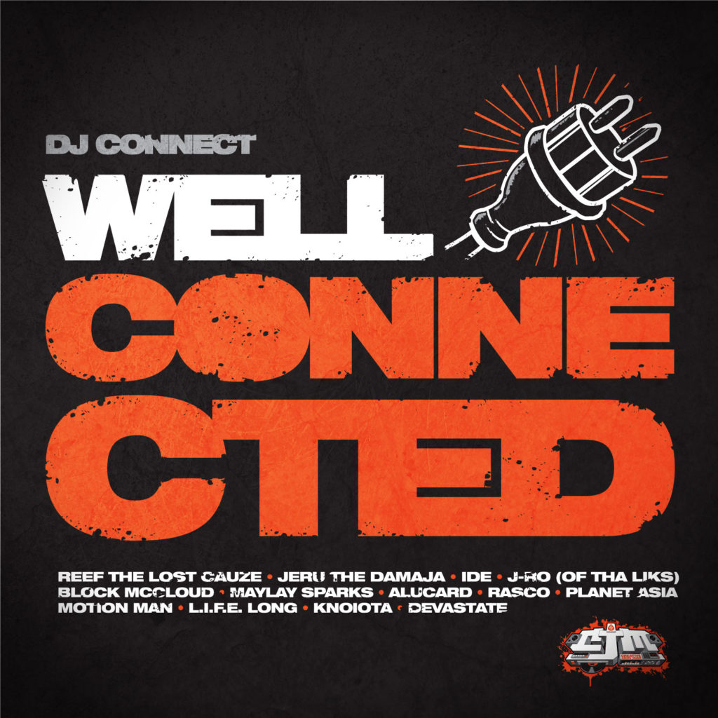 DJ Connect - Well Connected Cover