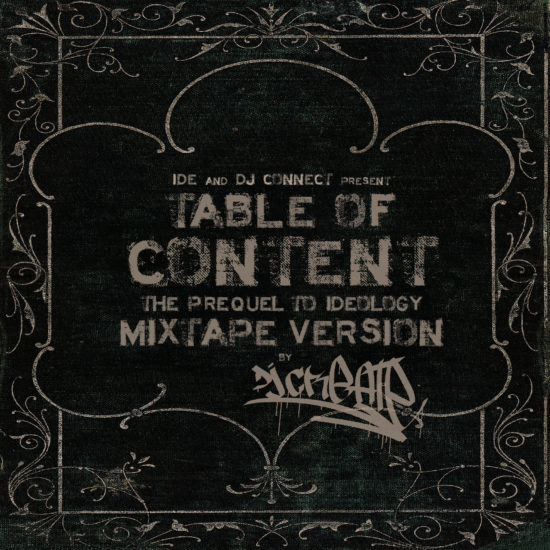 IDE Table Of Content Mixtape