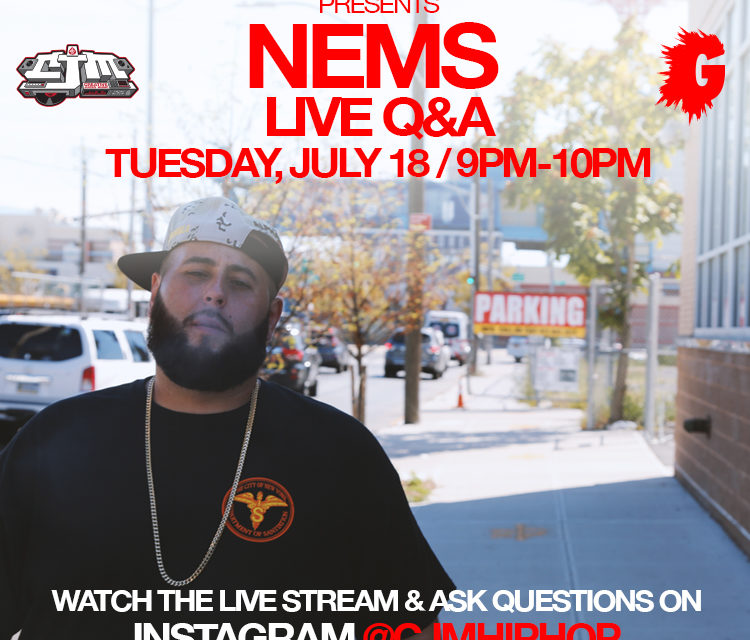 Nems Live Interview on IG
