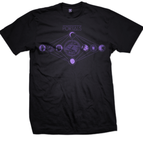 Portals Drum Machine T Shirt