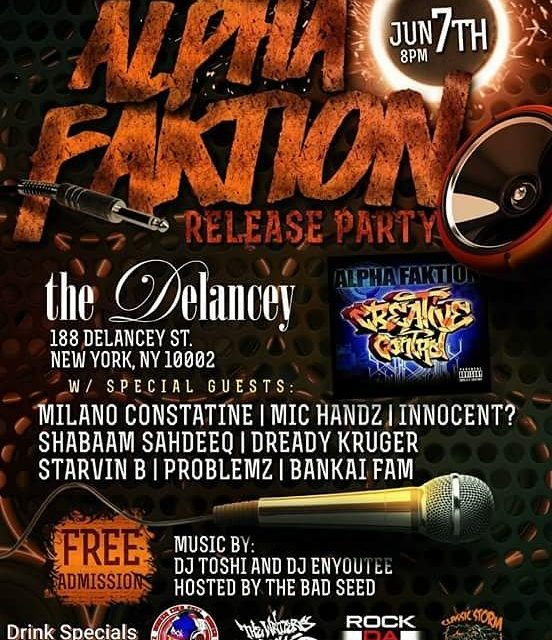 Alpha Faktion Album Release Party