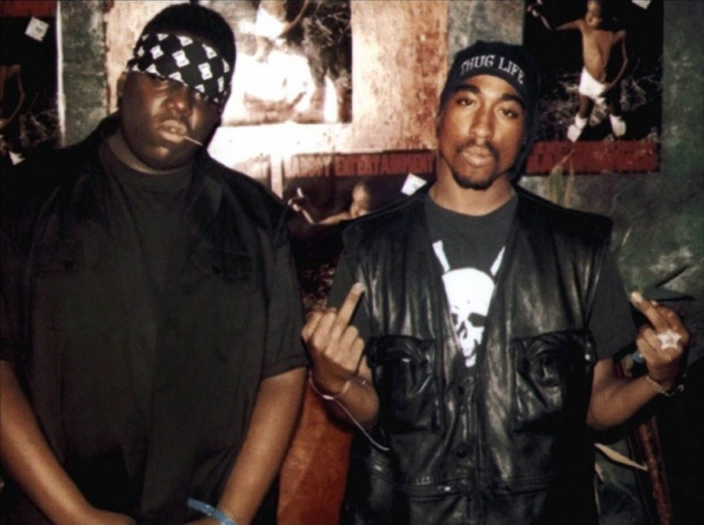 Biggie and 2 Pac
