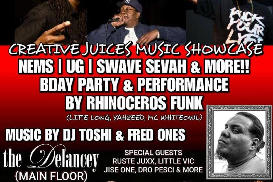 Creative Juices Music Show Case August 23rd