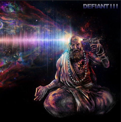 Defiant III - Abstract Bullets For Poetic Pistols (Test Cover)