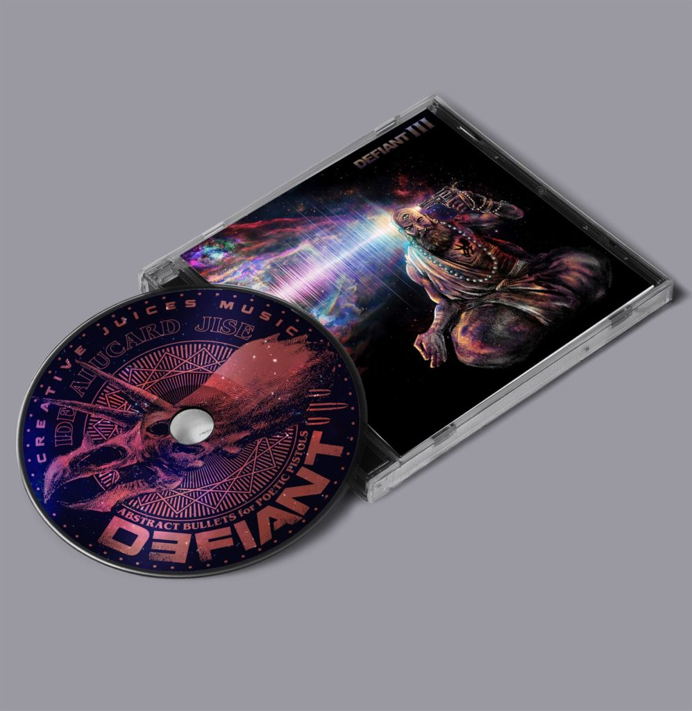 Defiant III - Abstract Bullets For Poetic Pistols CD