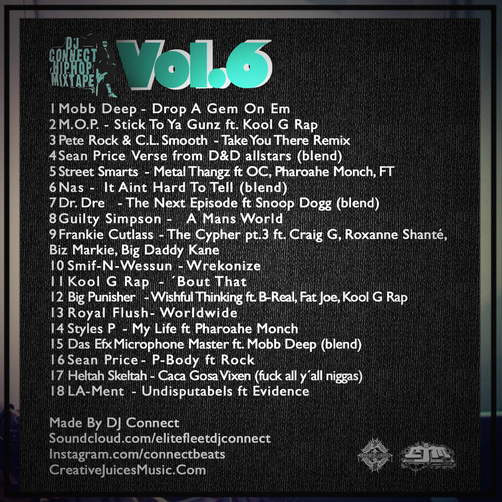 DJ Connect Mixtape Vol 6 [Back]