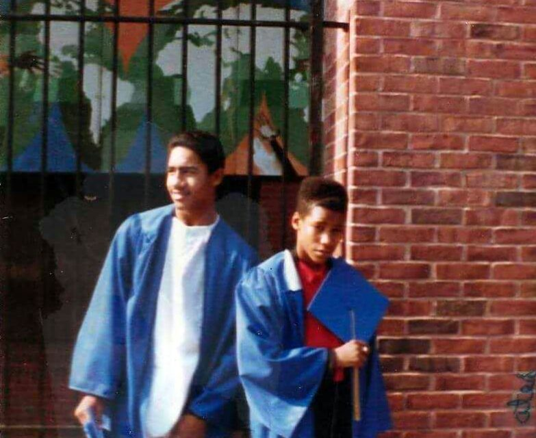 Young Jise and Swinga in the 80s