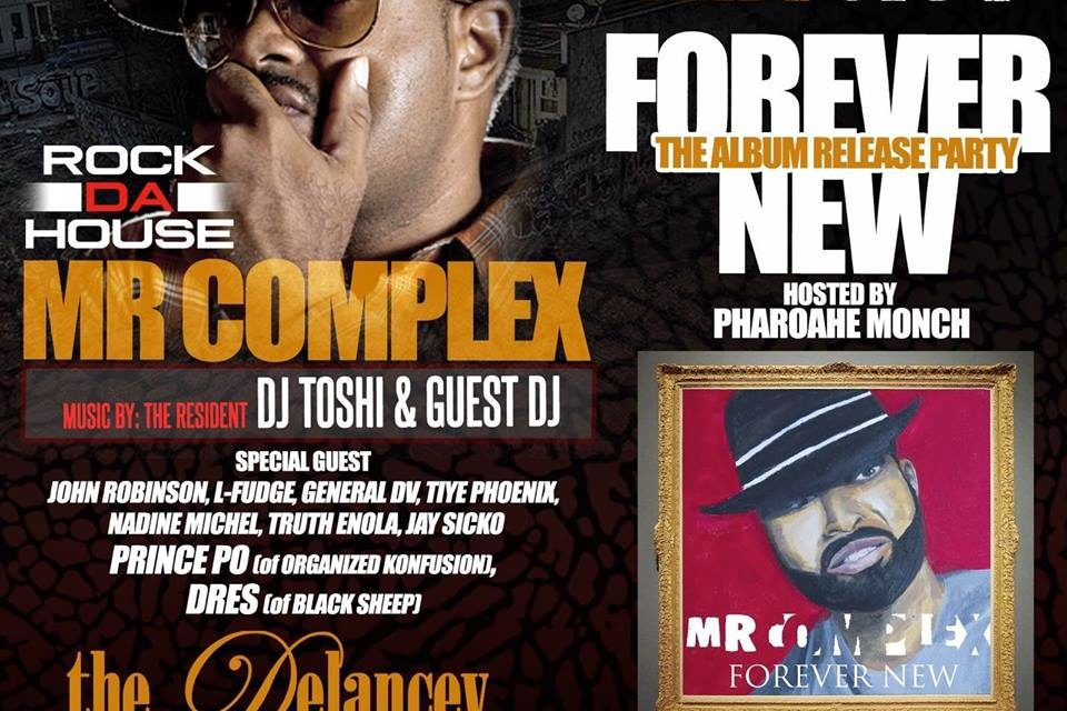 Mr. Complex Live At The Delancey