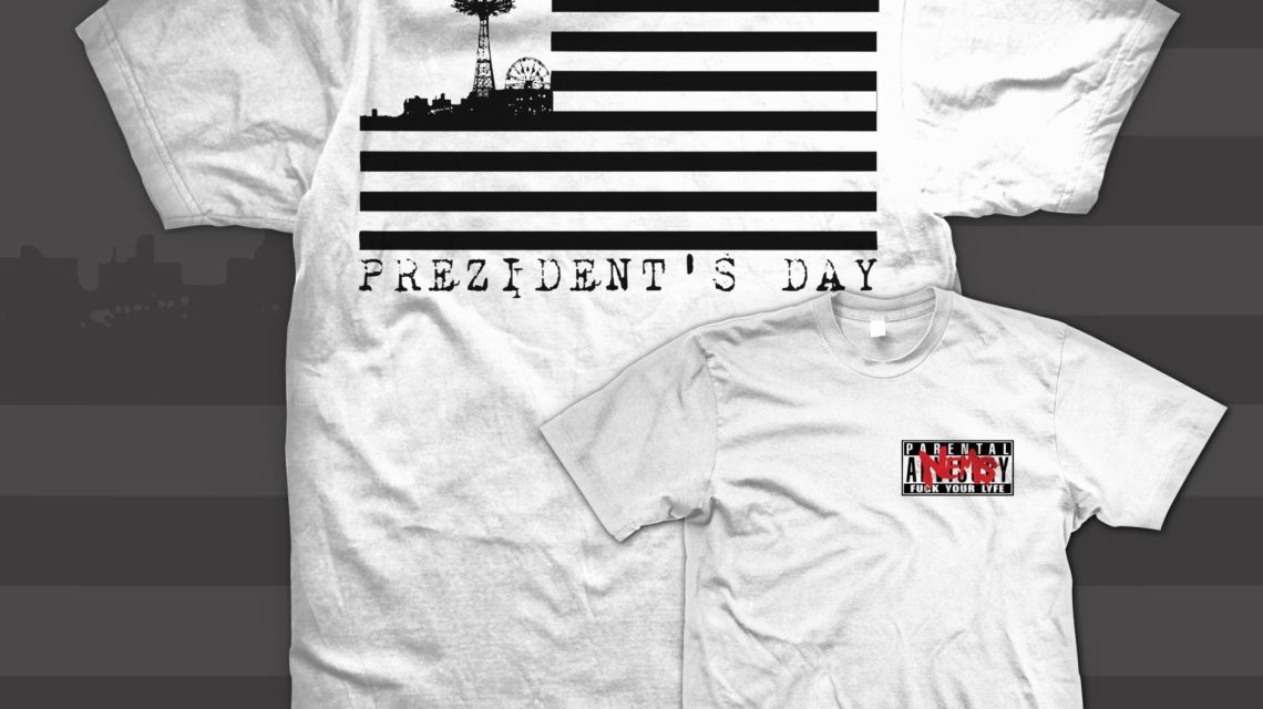 Nems - Prezidnets Day T Shirt [Front & Back]