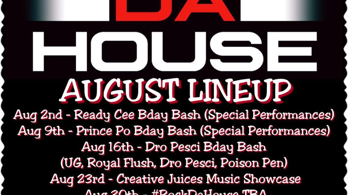 Rock Da House 2017 Line Up